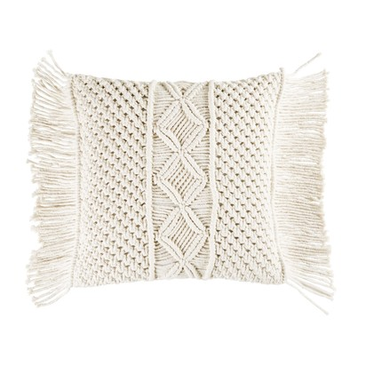 Ivory macrame cotton cushion 45x45 1000 7 16 177997 1