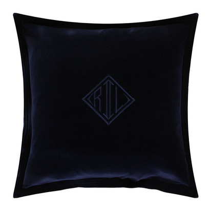 Velvet navy cushion cover 50x50cm 192844