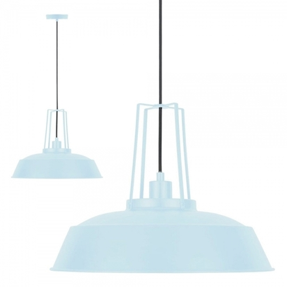Cult living shiro industrial metal pendant light pastel blue p13597 177936 image