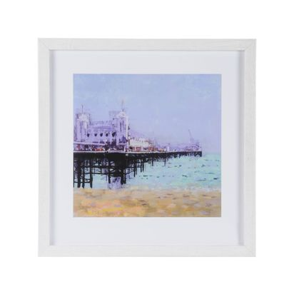 Brighton pier framed print by colin ruffell 78342 p