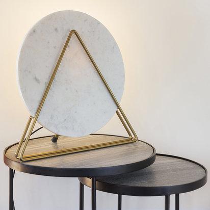 Moonbeam marble table lamp 850997