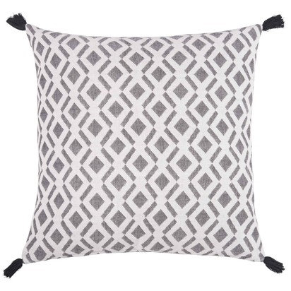 Black and white cotton cushion cover 50 x 50 1000 4 15 179677 1