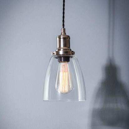 Gmq5093 hoxton domed glass pendant