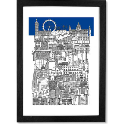 8c783fad28253b2ed9586736ace4465da8589ee5 london blue framed wall art print lb01