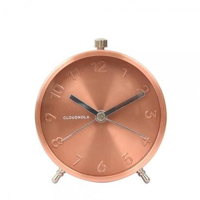 Cloudnola glam metal desk alarm clock copper p14565 180110 image