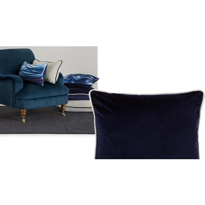 0cc3cd2eebfbe4d1b5e0701619f2ca90c0eb2168 m a made about the house mya velvet cushion 60x60cm navy lb01 1