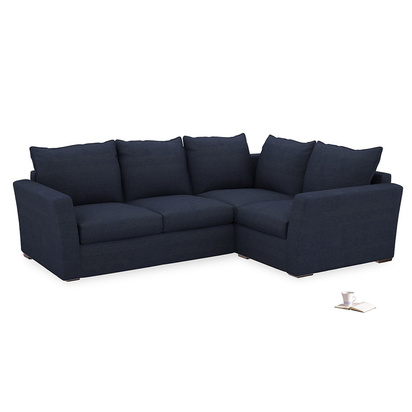 3199490 seriously blue clever softie pavilion corner sofa bed l rh