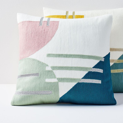Westelm crewel balancing shapes pillow covers t4799 z 1
