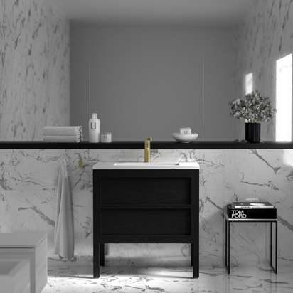 Lusso claridge black bathroom freestanding vanity unit 800 p1327 7937 zoom