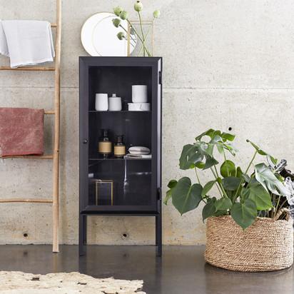 Zoom lison glazed metal bathroom cabinet 120 2644