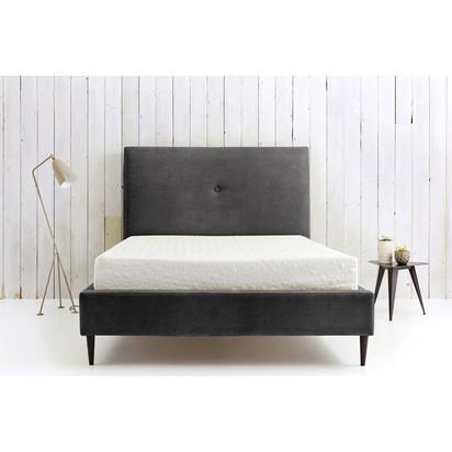 Trixabelle bed   sr velvet   graphite