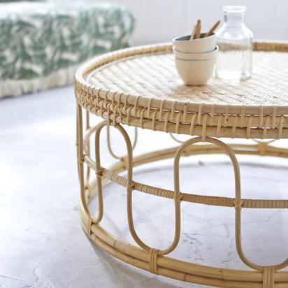 Zoom samson rattan coffee table 80 natural 2377 24914