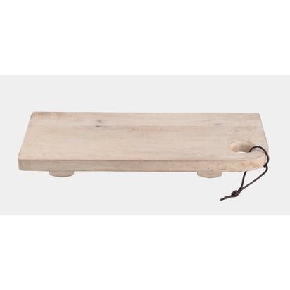 Mango wood board with feet