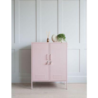 Mustard made lockers   the midi locker   blush pink